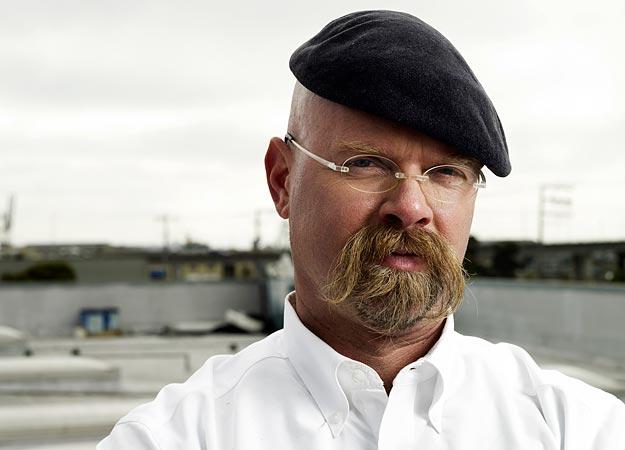 Jamie Hyneman moustache