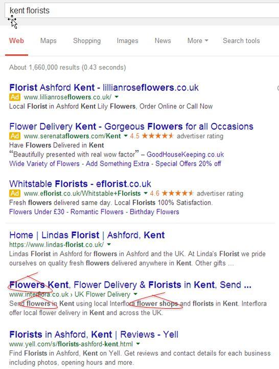 how meta descriptions are shown in search results