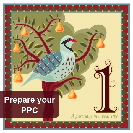 1st Day of Pre-Christmas Marketing - Prepare your PPC Campaigns