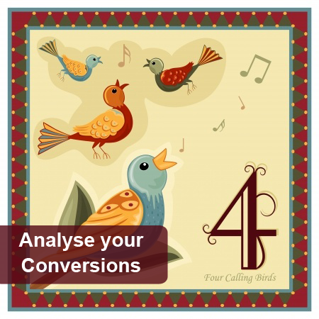 4th Day of Pre-Christmas Marketing - analysing your conversion rates