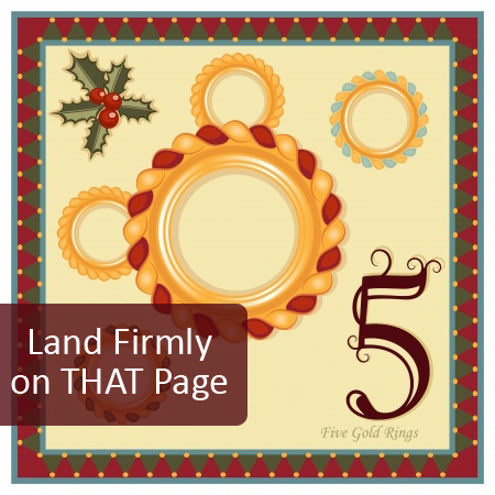 5th Day of Pre-Christmas Marketing Tips:  Build Key Product Pages