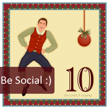 10th Day of Pre-Christmas Marketing - Think Socially