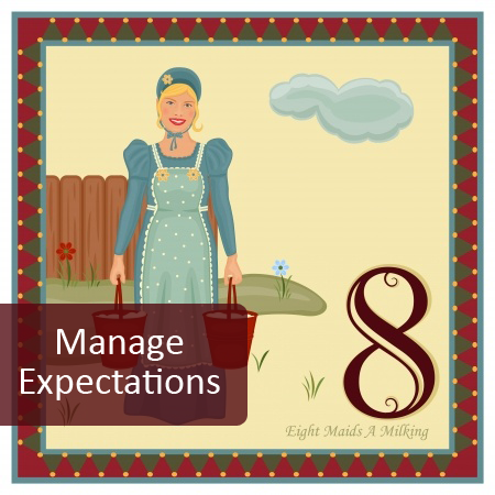 8th Day of Pre-Christmas Marketing Tips - Manage Delivery Expectations