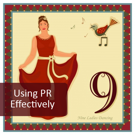 9th Day of Pre-Christmas Marketing  - Use Press Releases Effectively