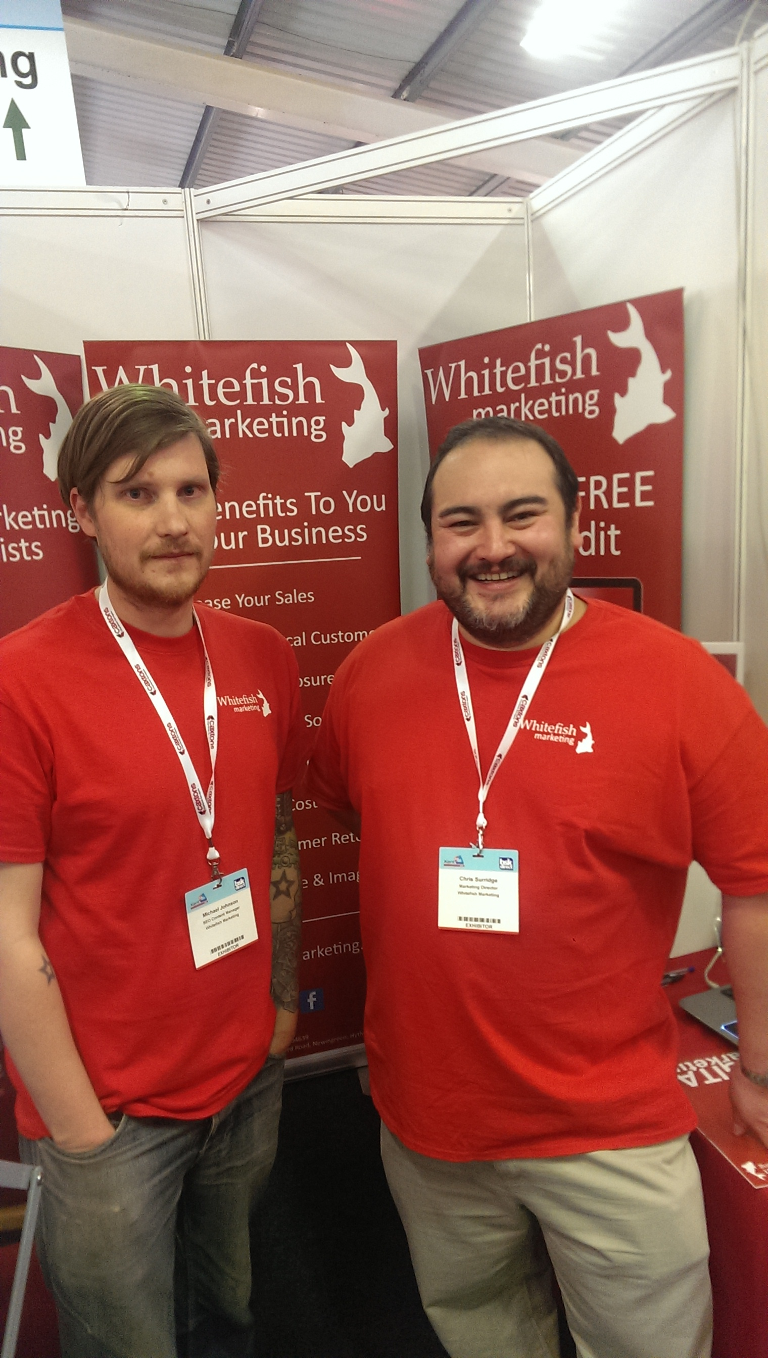 A recount of Whitefish Marketing at this year's Kent2020 exhibition