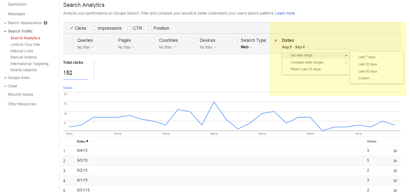 how to search by date google