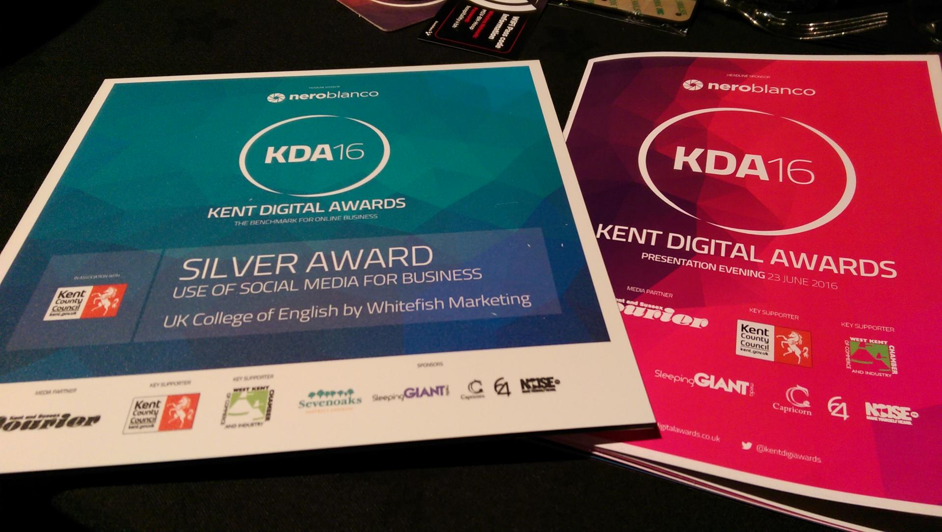 Sliver KDA 16 Award