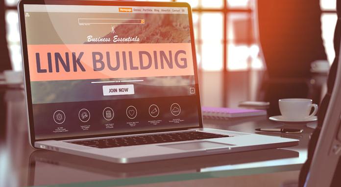 Link building banner
